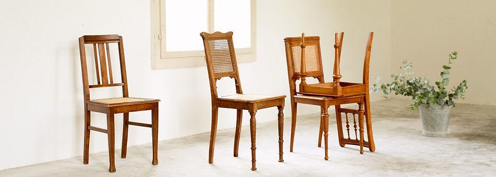Jeder Stuhl ein Unikat