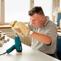 Industriearbeiten im Arbeitsheim Wangen