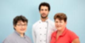 Küche: L. Martinovic, C. Kägi, S. Pfenninger