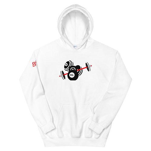 Team BDK Logo Hoodie - White