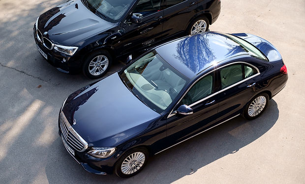 Luxury Cars from Above