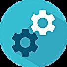 Gears representing Engineeringa