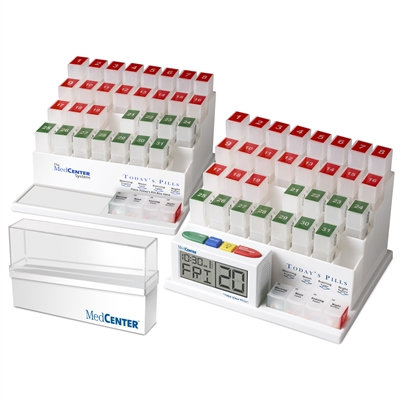 Deluxe Dual Monthly Medication Management System