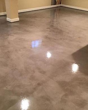 Polished-Concrete-Basement-Floor-Washing
