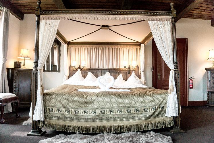 romantisk, autentisk og rustik Brudesuite Lille Restrup Hovedgaard