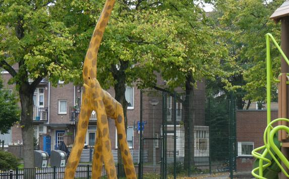 giraffe speelplaats