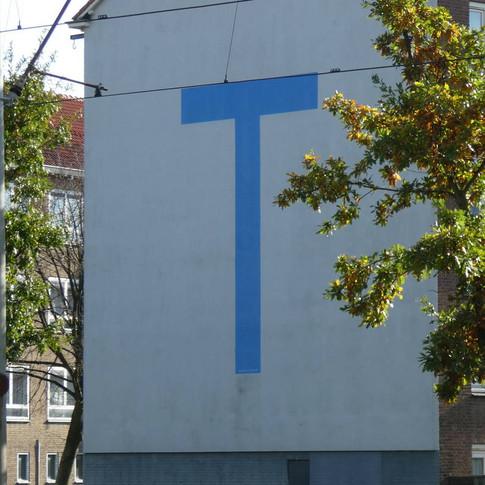 letters op gebouwen