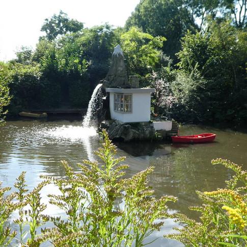 huisje in het water, Leonard van Munster