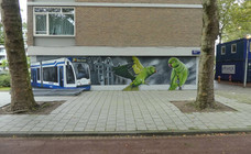 graffiti tram