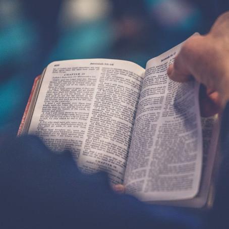Lent Spiritual Discipline: Memorizing Scripture