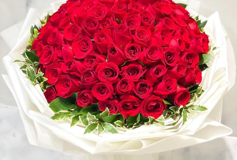 FOREVER 99枝紅玫瑰