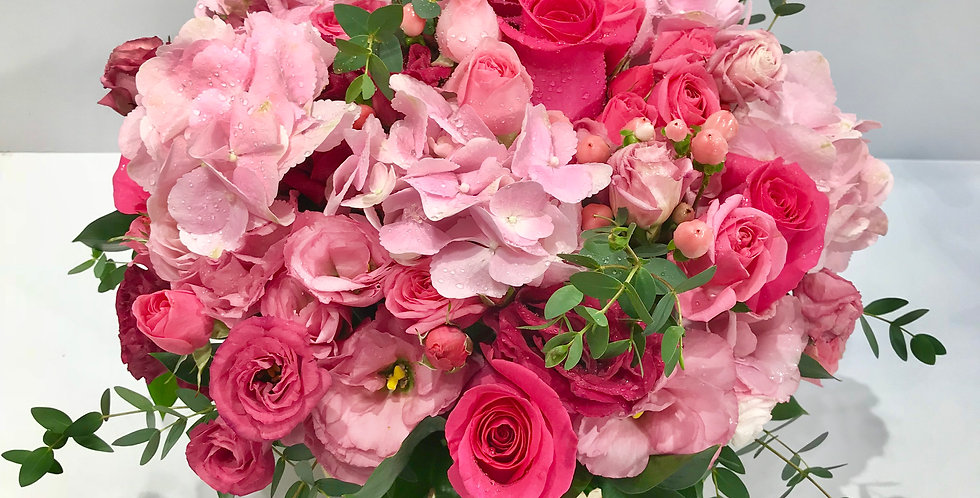 繡球玫瑰枱花