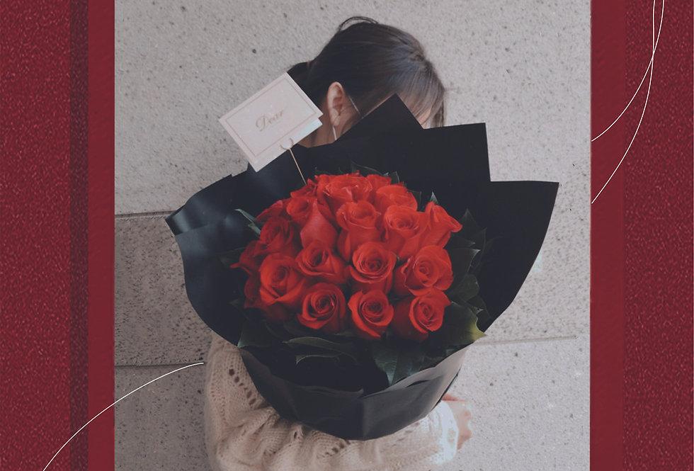 Dear My Love 美國玫瑰花束