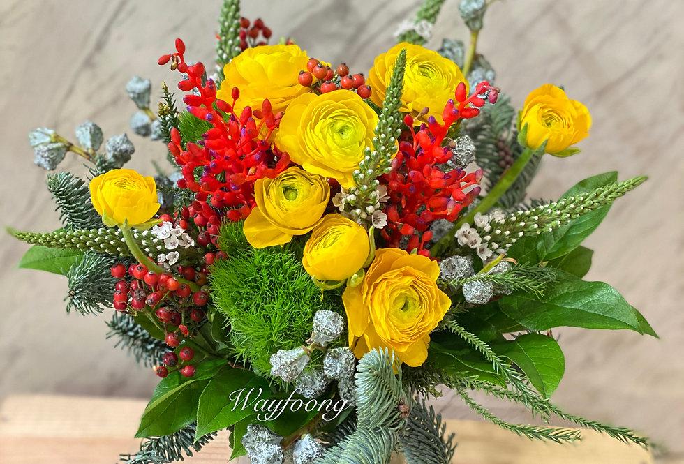 小牡丹枱花