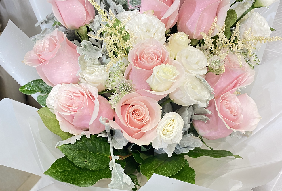 外國玫瑰花束