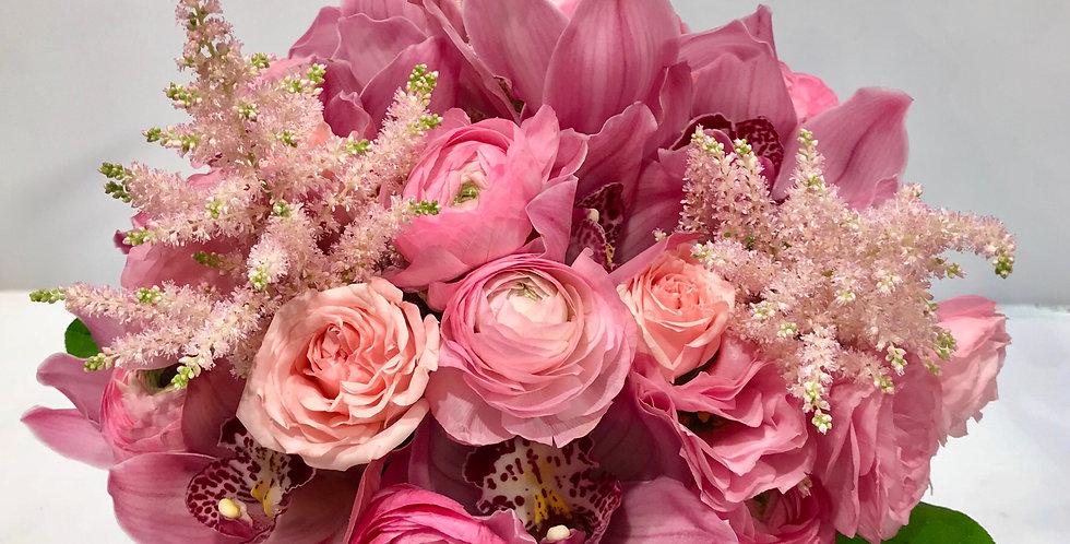 小牡丹蕙蘭枱花