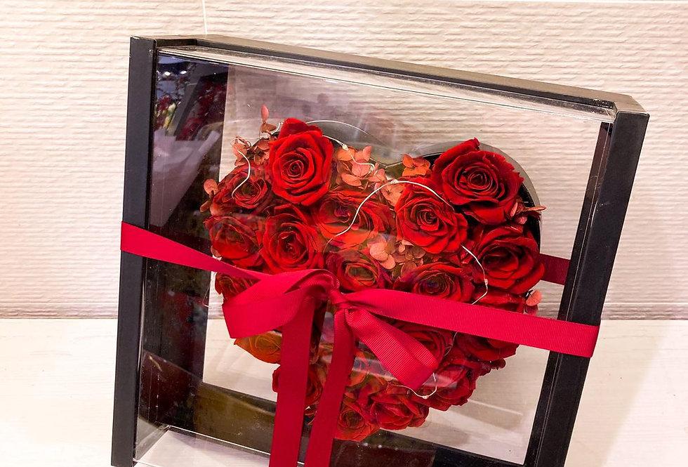 永生玫瑰小花盒