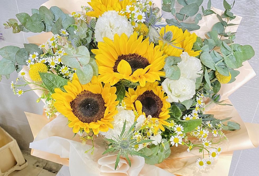 向日葵花束