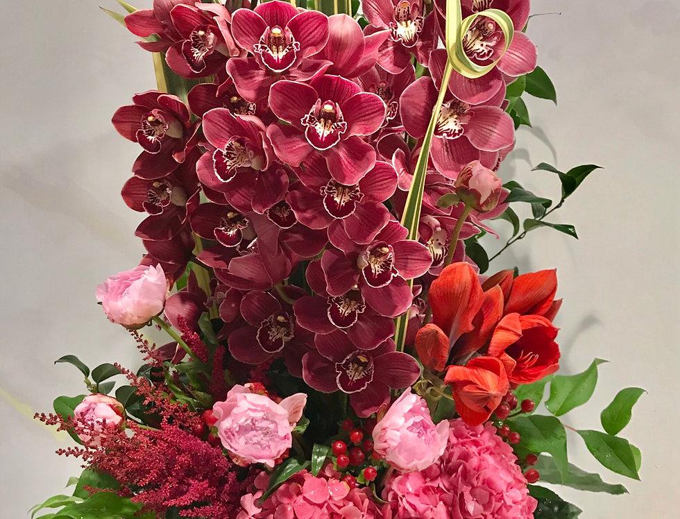 繡球蕙蘭枱花