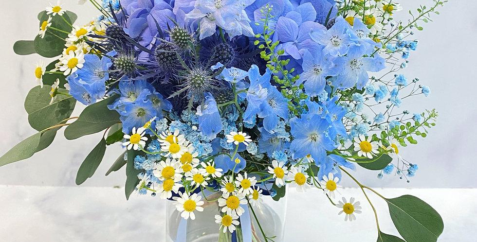 Ocean Song 海洋之歌 紫藍調枱花
