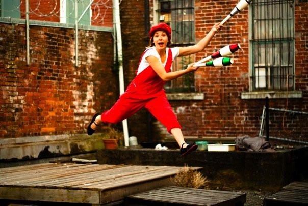 Jumping Juggler