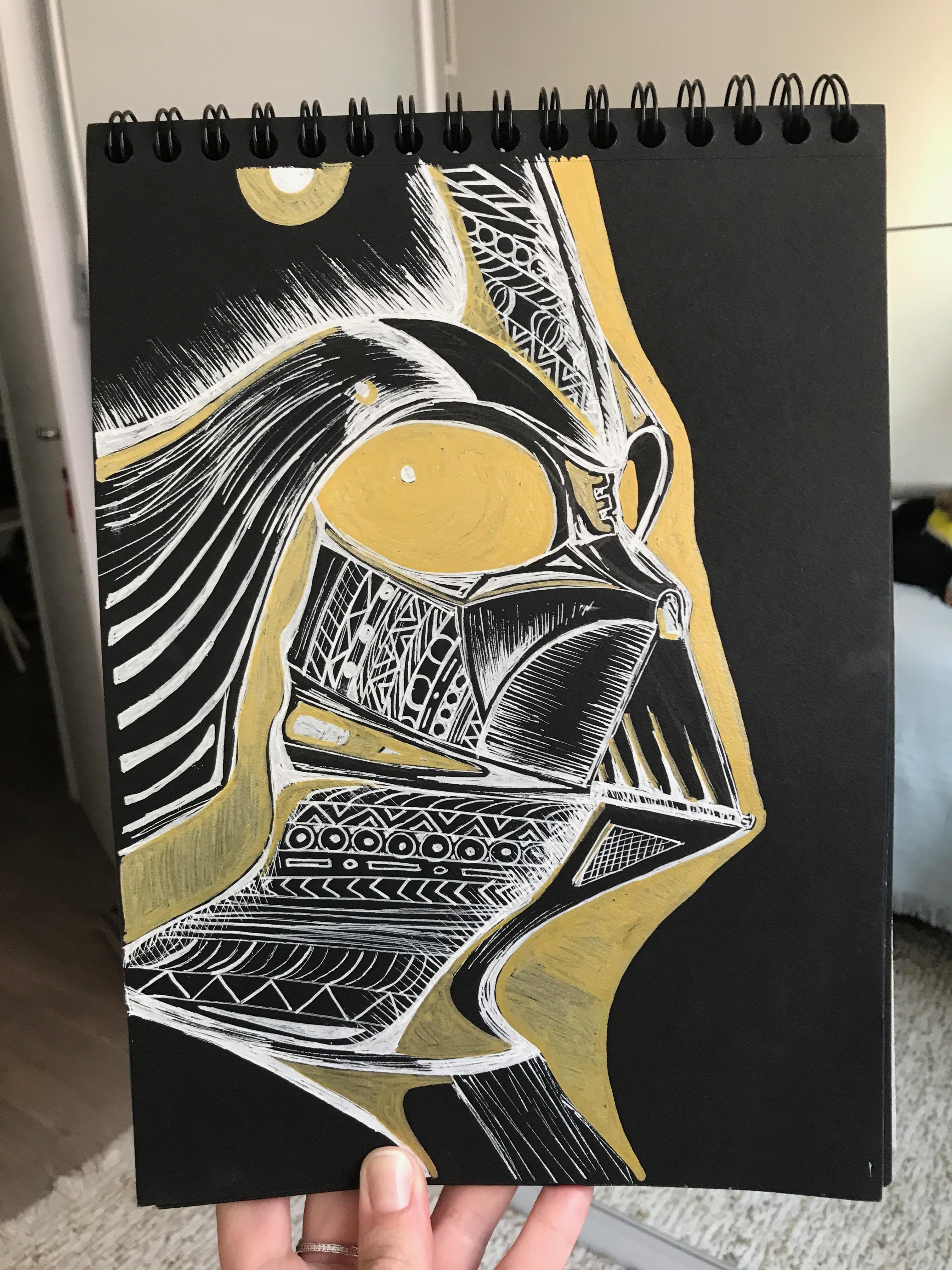 Golden Vader