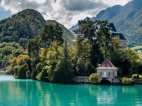 Régates et activités nautiques sur le lac d'Annecy