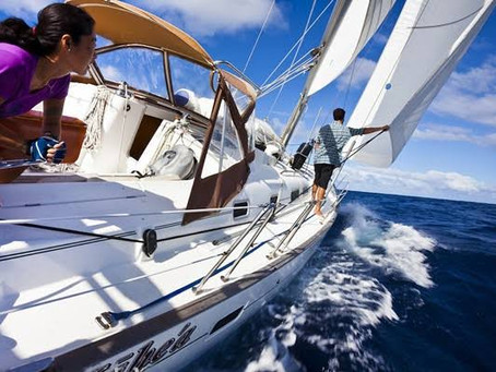 Sailing with the wind!