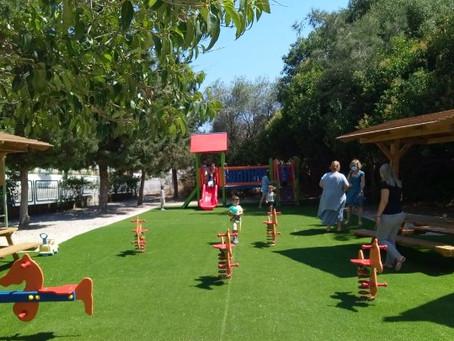 Εγκαταστάθηκε η παιδική χαρά στο προσχολικό κέντρο Αγίων Αποστόλων