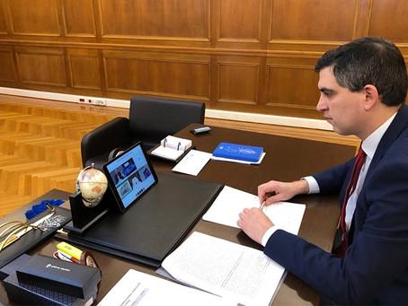 Άτυπη τηλεδιάσκεψη Υπουργών Έρευνας και Καινοτομίας της ΕΕ