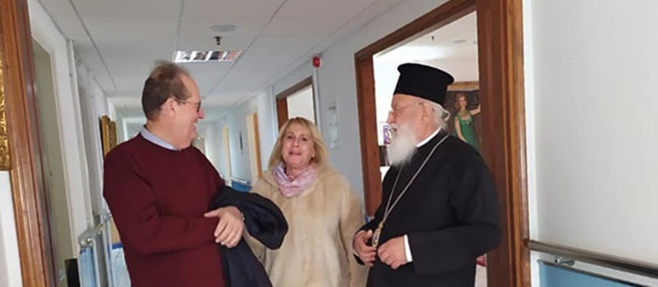 Στο γηροκομείο Τρίπολης ο περιφερειάρχης και ο μητροπολίτης