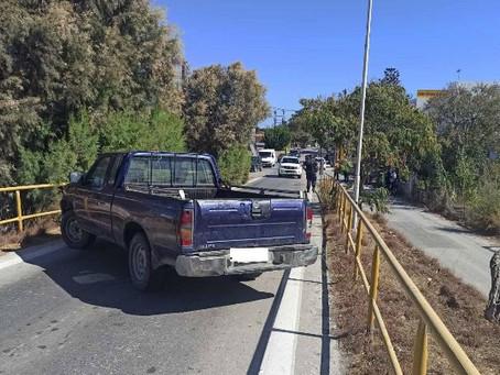 Συνελήφθη και παραπέμπεται στη δικαιοσύνη ο αγανακτισμένος οδηγός που έκλεισε τη γέφυρα Κρεμαστής
