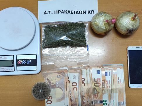 Συνελήφθη ημεδαπός για διακίνηση ναρκωτικών και κατοχή αυτοσχέδιων εκρηκτικών κατασκευών στην Κω