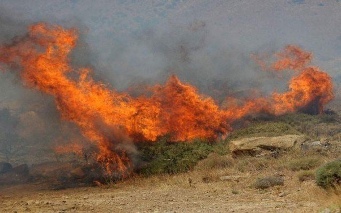 ΚΟΡΙΝΘΙΑ: Οριοθετήθηκε η φωτιά