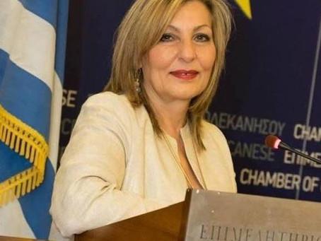 Πρωτοβουλία της Χαρούλας Γιασιράνη, για τον δειγματοληπτικό έλεγχο εργαζομένων στον Τουρισμό