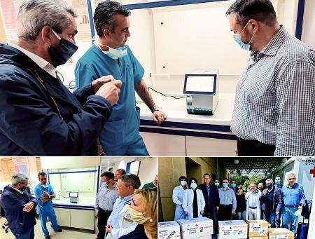 Μηχάνημα μοριακής ανάλυσης εξετάσεων (PCR) παραδόθηκε από την Περιφέρεια Νοτίου Αιγαίου.