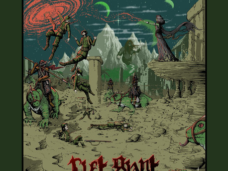 """RIFT GIANT Unleashes the Otherworld Fury with Album """"Cataclysm""""; """"Queen Witch"""" Video on 666Mr.Doom"""