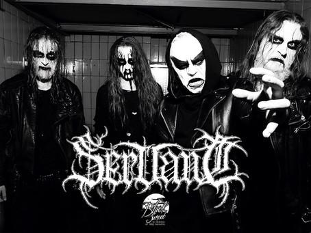SERVANT: sign with Black Sunset, debut on 26 November!