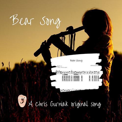 Bear Song {PDF}