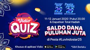 Vidio Quiz Konser Raya dan Pesta Perak 25 Tahun Indosiar
