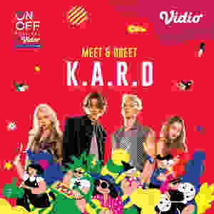 Meet & Greet KARD On Off Festival X Vidio