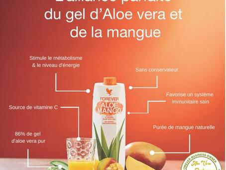 Nouveauté : Aloe Vera Gel Mango !