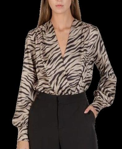 Body imprimé tigre