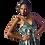 Thumbnail: Robe assymétrique lamé argent