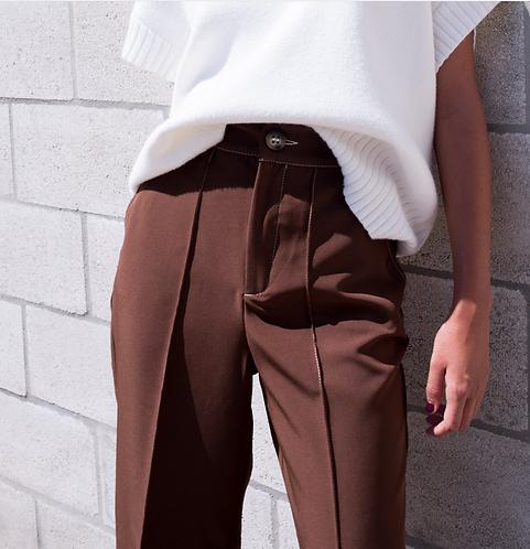 Pantalon base évasée