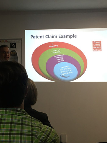 """Patent Claim Example"" by John Cabeca (USPTO)"