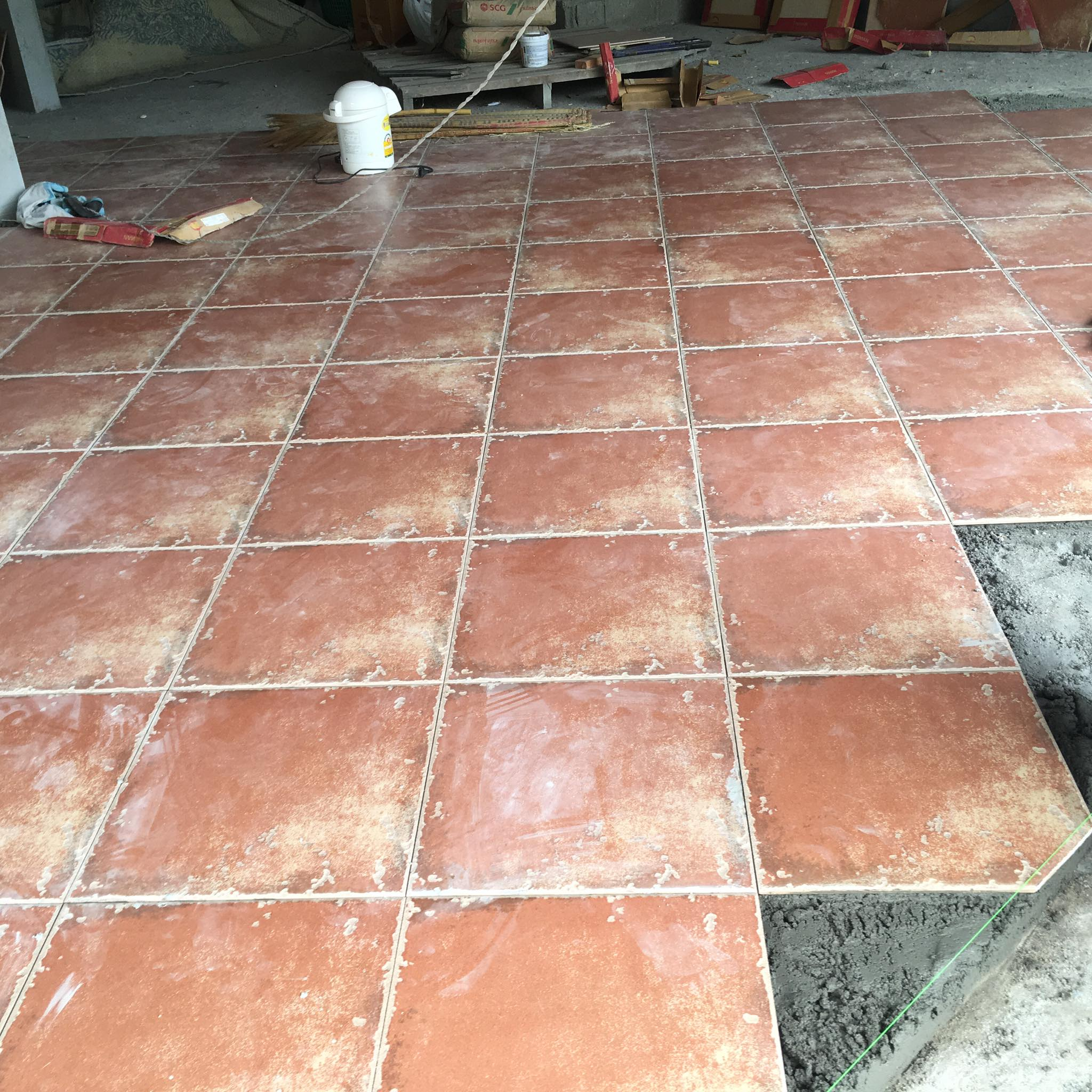 27 May - 1st Level Floor Tiles