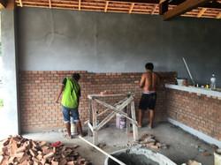 28th May - Brick wall2