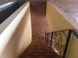 Brick, iron & terracotta