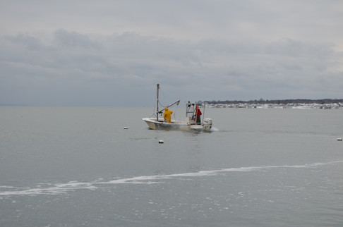 Cold Weather Does Not Stop Our Operation